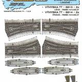 E3 005 - VÝHYBKA TT 6813 6814